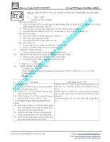Giáo án sinh học nâng cao lớp 11 phần 7 pdf