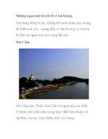 Những ngọn núi huyền bí ở An Giang potx