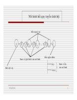 Bài giảng Kinh tế lượng  Chương 2: Mô hình hồi quy tuyến tính bội
