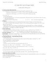 Phương pháp giải toán VẬT LÝ HẠT NHÂN pps