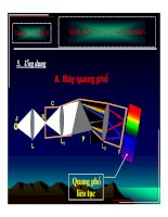 Bài giảng vật lý : Hiện tượng tán sắc ánh sáng part 2 potx