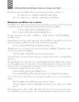 writings grammar usage and style phần 6 pot