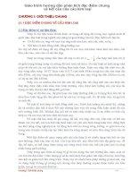 Giáo trình hướng dẫn phân tích đặc điểm chung về kết cấu của cầu kim loại p1 pdf