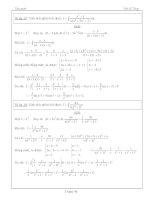 tích phân phổ thông trung học phần 4 pptx