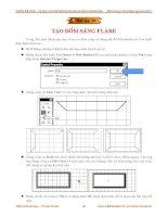 Giáo trình hướng dẫn thực hiện kĩ thuật classic flare trong video clip phần 3 doc