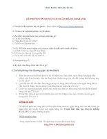 Đề thi tuyển dụng vào ngân hàng Seabank ppsx