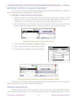 Giáo trình hướng dẫn cách sử dụng ảnh nhập vào để chỉnh sửa âm thanh và định dạng file ảnh phần 5 pdf