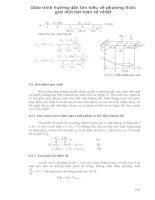 Giáo trình hướng dẫn tìm hiểu về phương thức giải một bài toàn về nhiệt phần 1 pdf
