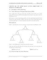 Giáo trình quản lý mạng - Phần 4 Quản trị mạng Windowns 2000 - Chương 3 doc