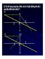 Bài giảng vật lý : Ảnh của một vật qua thấu kính - Công thức thấu kính part 2 pot