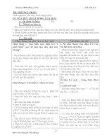 Giáo án Vật Lý lớp 9 ( cả năm ) part 2 pot