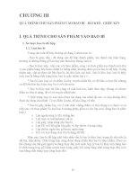 Giáo trình CÔNG NGHỆ CHẾ BIẾN THỰC PHẨM ĐÓNG HỘP - Chương 3 docx