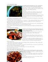 Các món ăn ngon của Việt Nam pdf