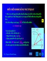 Bài giảng vật lý : Khảo sát dao động điều hòa part 6 pps
