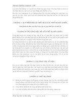 Sổ tay Vận hành và Bảo dưỡng : Nhà máy Chế biến Condensate - CPP part 7 docx