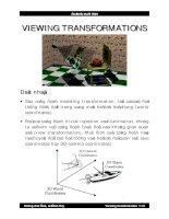 Bài giảng đồ họa : VIEWING TRANSFORMATIONS part 1 potx