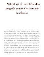 Nghệ thuật tổ chức điểm nhìn trong tiểu thuyết Việt Nam thời kì đổi mớii pps