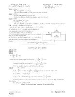 ĐỀ THI HỌC KÌ I (2010 – 2011) Môn: Vật lý 11 cơ bản - Trường THPT Nguyễn Trường Tộ pdf