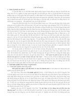 Mối quan hệ giữa tỷ giá và cán cân thanh toán quốc tế Lý luận và thực tiễn tại Việt Nam