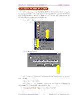 Giáo trình hướng dẫn tìm hiểu về cách thay đổi frame để tạo ra animation phần 10 pptx