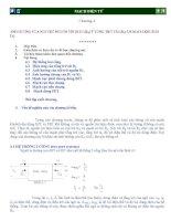 Bài giảng mạch điện tử : ẢNH HƯỞNG CỦA NỘI TRỞ NGUỒN TÍN HIỆU (RS) VÀ TỔNG TRỞ TẢI (RL) LÊN MẠCH KHUẾCH ÐẠI part 1 ppt