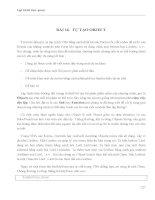 LẬP TRÌNH TRỰC QUAN - PHẦN II VISUAL BASIC - BÀI 16 potx