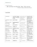 365 câu luyện nói tiếng Anh – Hoa – Việt pot