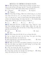 74 câu hỏi bài tập trắc nghiệm về các định luật bảo toàn lớp 11 kèm đáp án