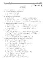 Bài giảng điện tử số I - Chương 6 pps
