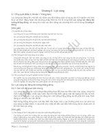 Tiêu chuẩn kỹ thuật và chú giải đối với các công trình cảng - Phần Các điều kiện thiết kế - Chương 5 doc
