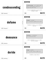vocabulary flashcards phần 3 pdf