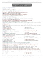 Bài tập chuyên đề vật lý: ôn tập sóng cơ học - phần 2 pptx