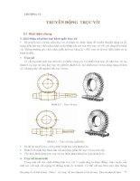 Cơ sở thiết kế máy - Phần 2 Truyền động cơ khí - Chương 6 ppsx
