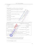 sách bài tập tiếng anh A2 hệ đại học từ xa học viện công nghệ bưu chính viễn thông phần 6 pdf