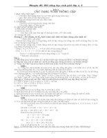 Chuyên đề bồi dưỡng học sinh giỏi toán lớp 4 và 5