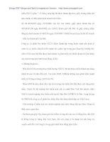 Thực trạng và giải pháp nâng cao tính bắt buộc trong nghĩa vụ bảo hiểm của chủ xe cơ giới với người thứ 3 tại PJICO - 6 pdf
