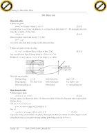 Giáo trình hướng dẫn cách thực hiện một chuỗi các phép toán thuộc trường số phức phần 6 pot