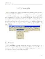 LẬP TRÌNH TRỰC QUAN - PHẦN II VISUAL BASIC - BÀI 18 ppt