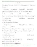 CHUYÊN ĐỀ LUYỆN THI ĐH, CĐ chuyên đề 17:Amin – Aminoaxit - Protein. ppsx
