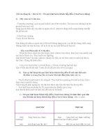 Bài số 23 Thì quá khứ hoàn thành tiếp diễn (I had been doing) ppsx