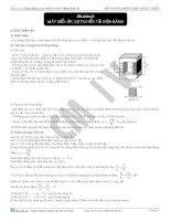 Bài giảng dòng điện xoay chiều - máy biến áp, sự truyền tải điện năng pdf