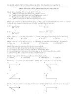 Ôn tập trắc nghiệm Vật lí 12- Dòng điện xoay chiều, dao động điện từ, sóng điện từ ppt