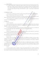 BÀI GIẢNG TIẾNG ANH CHUYÊN NGÀNH CNTT HỌC VIỆN CÔNG NGHỆ BƯU CHÍNH VIỄN THÔNG phần 6 potx
