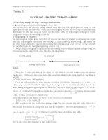 Cơ học đại cương - Phần 2 Dao động và sóng cơ - Chương 2 pot