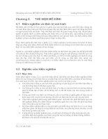 Mô hình hóa môi trường - Chương 4 potx