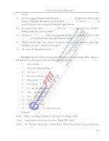 sách bài tập tiếng anh A2 hệ đại học từ xa học viện công nghệ bưu chính viễn thông phần 7 ppsx