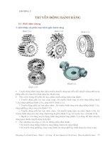 Cơ sở thiết kế máy - Phần 2 Truyền động cơ khí - Chương 5 docx