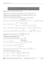 Bài giảng vật lý số 1: Các dạng bài tập về dao động điều hòa docx