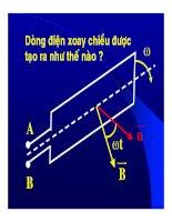 Bài giảng vật lý : Máy phát điện xoay chiều một pha part 1 pot