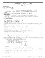 ôn thi đại học, cao đẳng CHƯƠNG 1: ESTE - LIPIT ESTE ppt